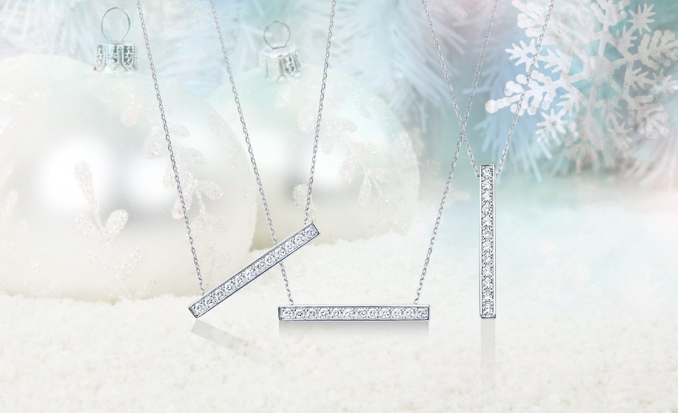 2WAYダイヤモンドペンダント